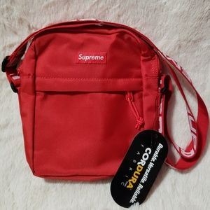Supreme SS18 Red Shoulder Bag (NEW)